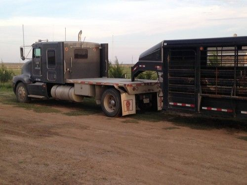 95 Kenworth Semi for Sale - For more information click on the image or see ad # 51261 on www.RanchWorldAds.com