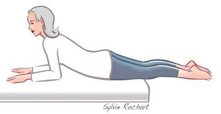 Exercice 6 pour étirer les tendons et ligaments situés en arrière de votre cuisse