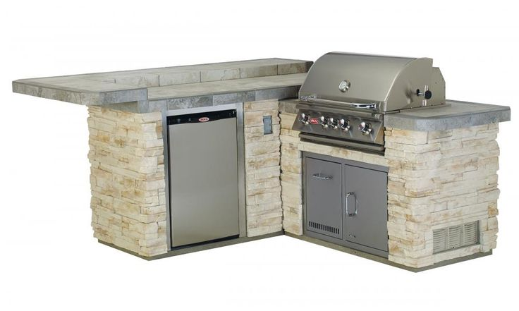 Jr. Gourmet Q Island with Closed Grill
