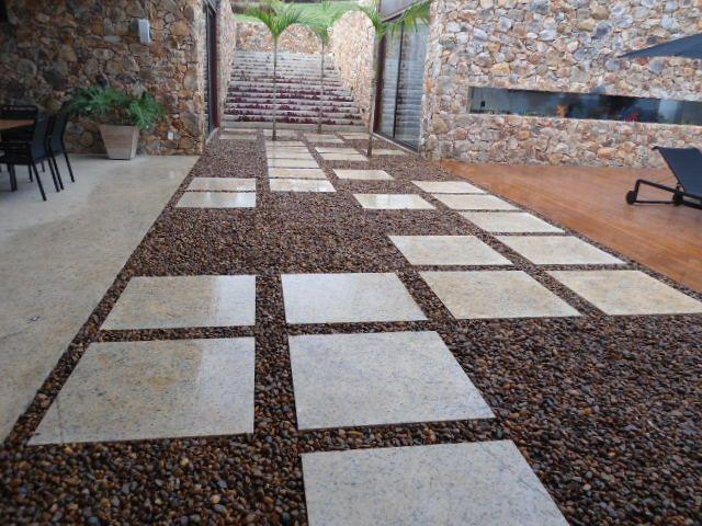 Projeto Paisagismo - Caminho de Pedras