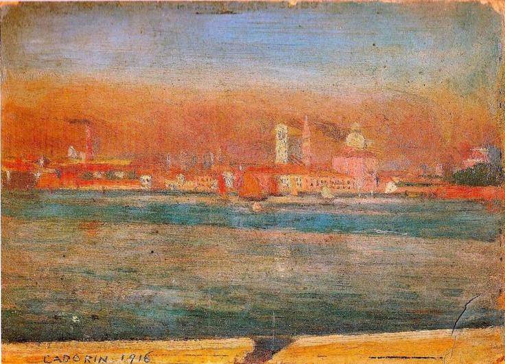 Veduta di Venezia, Cadorin