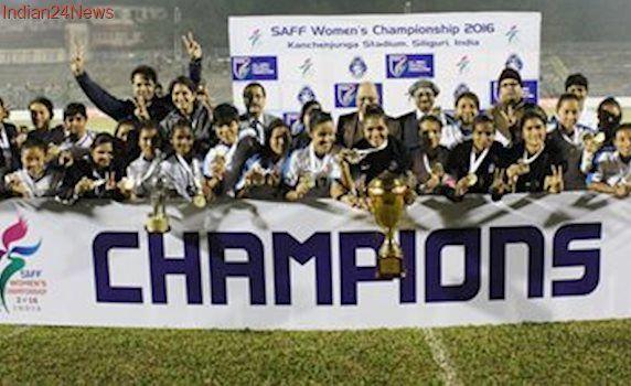India women's football team beats Bangladesh to lift 4th SAFF Championship