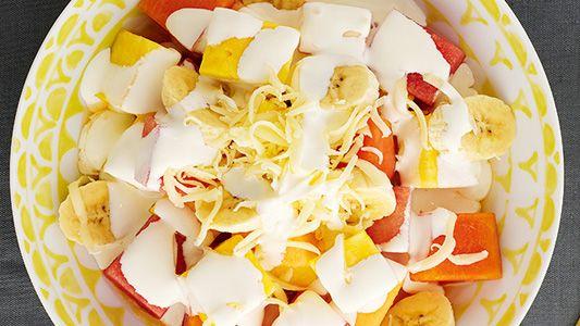Ensalada de Frutas con Crema | Recetas Alpina