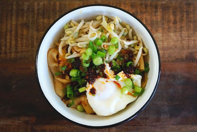 Flavours of Asia: Spicy Biang Biang Noodles (Biang Biang Mian)