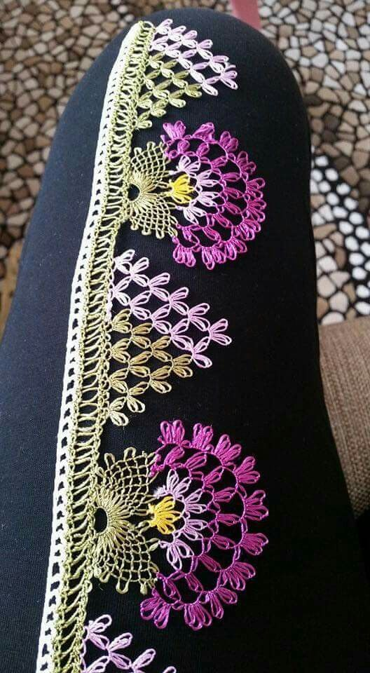 iğne oyası turkish needle lace