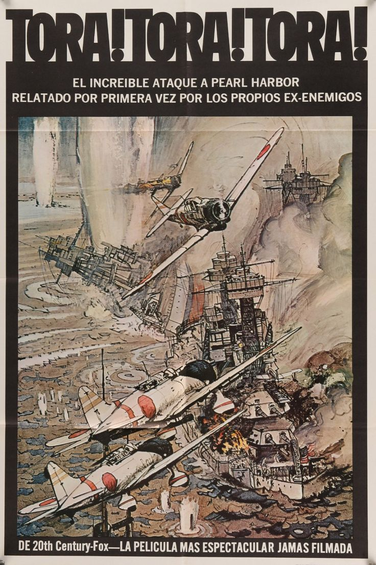 "Tora Tora Tora (1970) Vintage One Sheet Movie Poster- 27""x 41"""