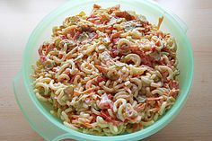 Gabelspaghettisalat, ein schönes Rezept aus der Kategorie Gemüse. Bewertungen: 5. Durchschnitt: Ø 3,4.