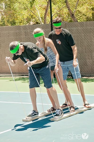 5 summer relay games for family reunions | How Does She