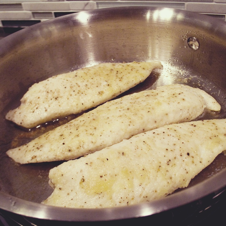 Delicious recipe for those frozen tilapia fillets sitting in your freezer... Makes the fillets tender and full of flavor!