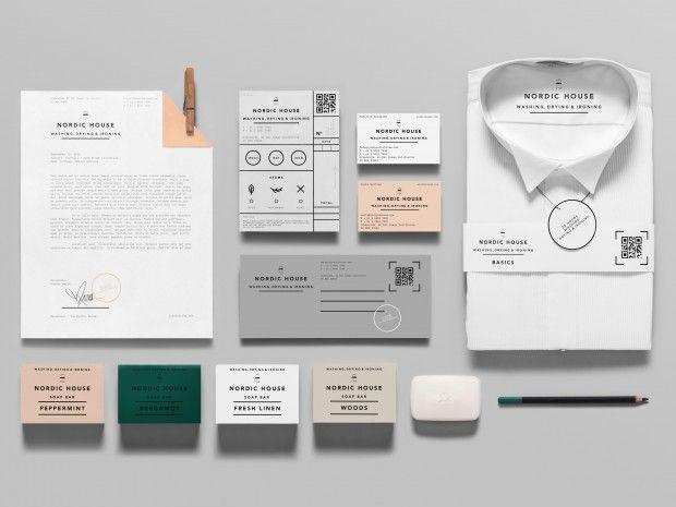 洗練されたデザインが話題のドライクリーニング店「Nordic House」
