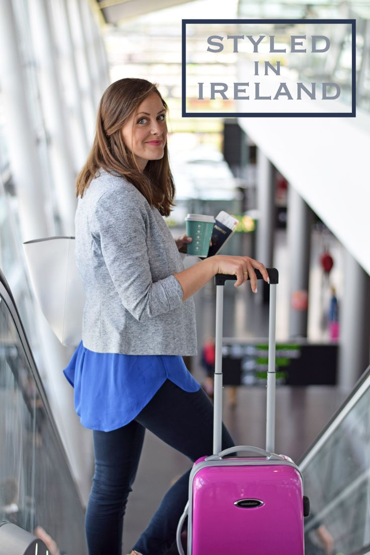 What to wear flying to and from Dublin Airport, and a whole lot of tips and tricks for navigating the airport with ease.
