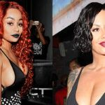 Blac Chyna Vs. Amber Rose: Which Braless Babe Is Rocking The Hotter Hair Makeover? – Hollywood Life