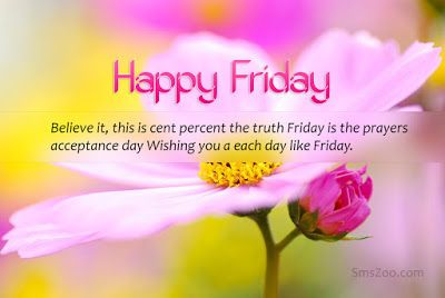 have a blessed friday love sms