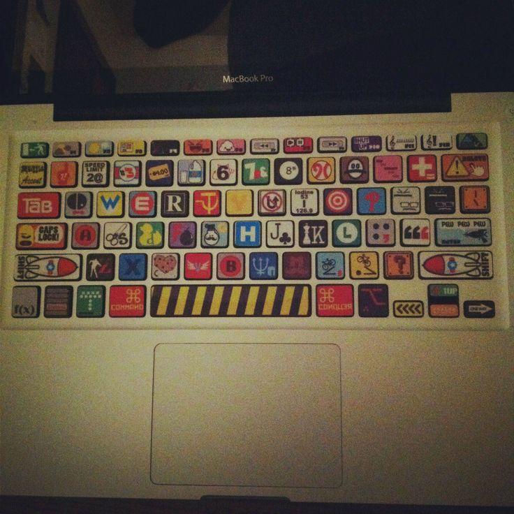 ransom letter keyboard.: Geeky Geeky, Ransom Letters, Ransom Note, Letters Keyboard, Keyboard Skin, Mr. Beans, Innerout Geek, Note Keyboard, Geek Zone