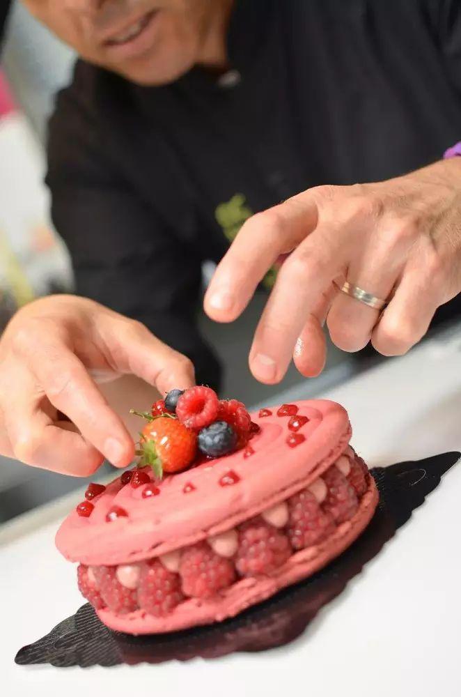 Cours de pâtisserie Christophe Roussel