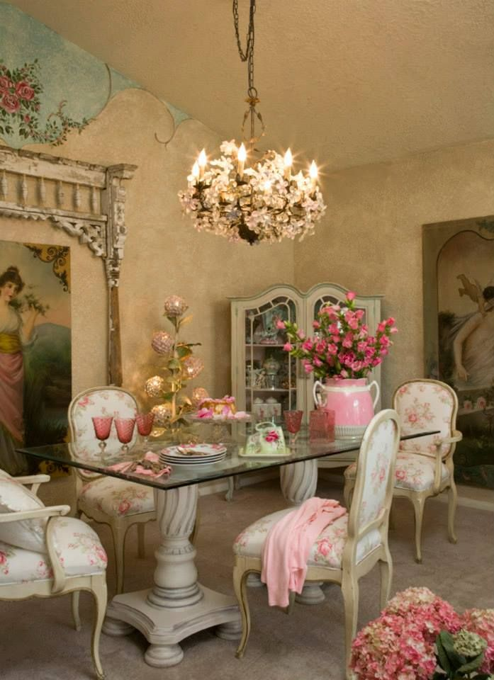 540 Best Shabby Chic Romantic Decor Images On Pinterest Beautiful Kitchens Dream Kitchens And