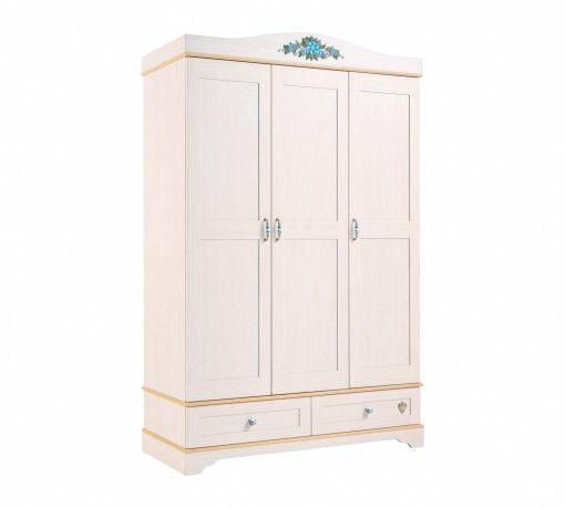 Flora 3 ajtós szekrény #gyerekbútor #bútor #desing #ifjúságibútor #cilekmagyarország #dekoráció #lakberendezés #termék #ágy #gyerekágy #flora #lánybútor #szekrény