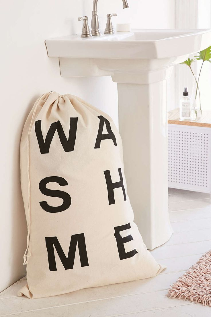 Wash Me Scramble Laundry Bag - Urban Outfitters