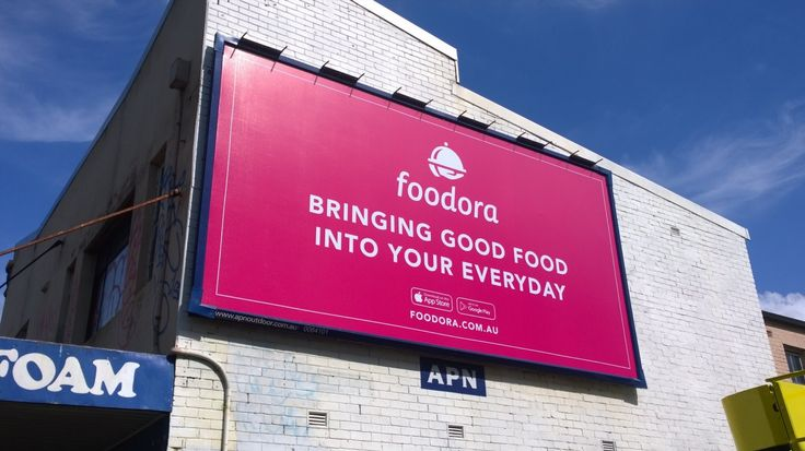 High impact! 360DMG recently planned and bought a number of outdoor placements across the Eastern Seaboard for Foodora.