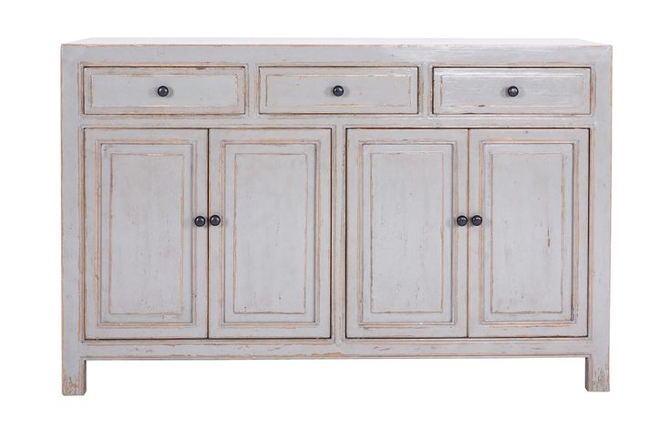 Limited Edition Coralie 3 Drawer Buffet in Light Cloud