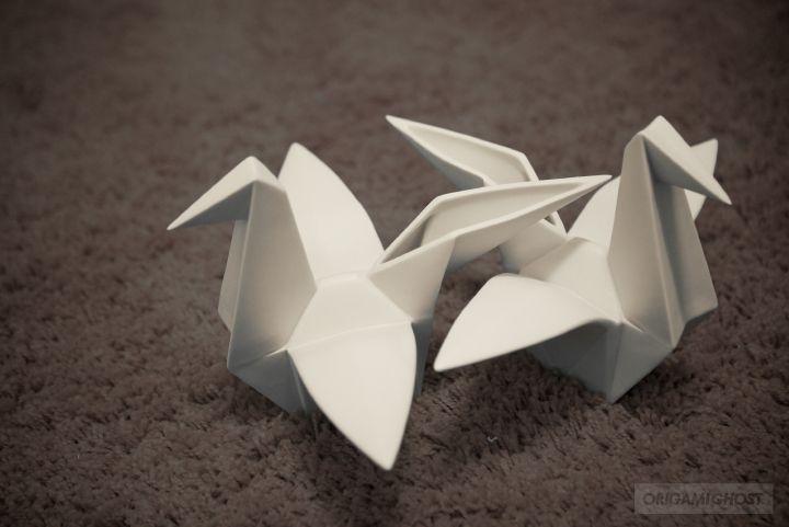 CRANES : Origami Ghost