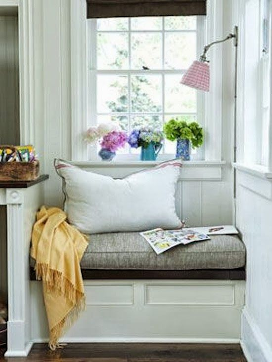 The Zhush: Seven More Cozy Nooks To Love ; I love nooks that are in bedrooms