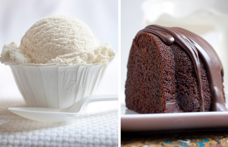 ice cream, cake | Foodies | Pinterest