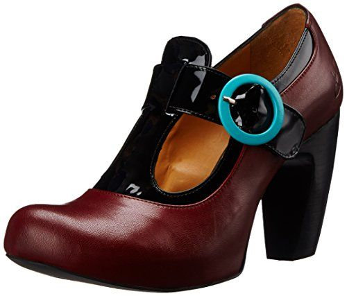 Dream Shoes!!!!! John Fluevog Women's Arbus Dress Pump, Red/Black, 8.5 M US