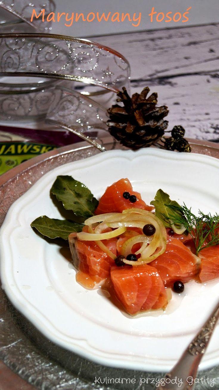 Kulinarne przygody Gatity: Marynowany surowy łosoś w przyprawach