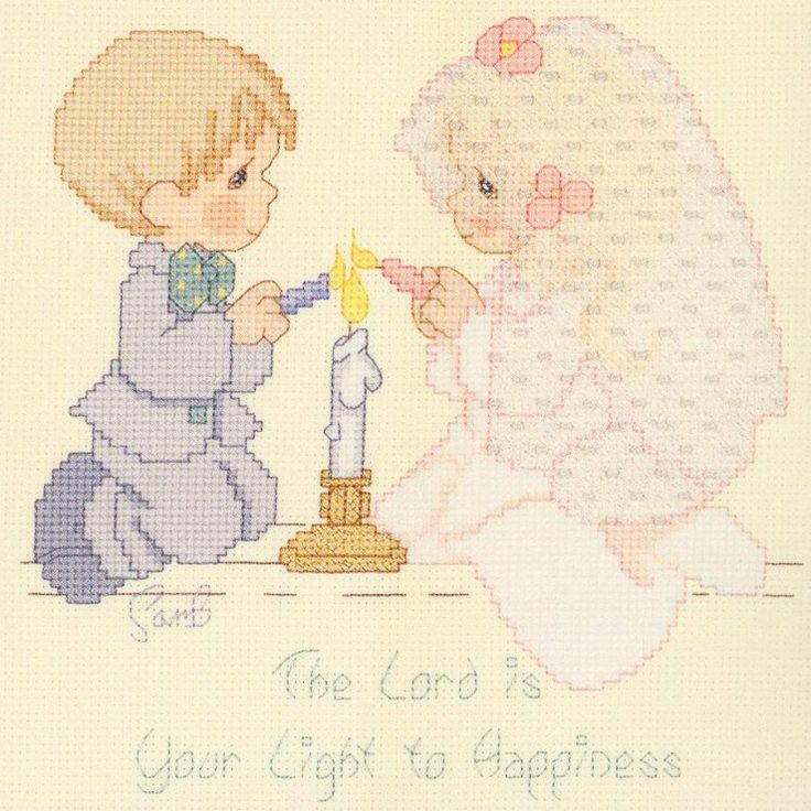 precious moments marriage cross-stitch pattern