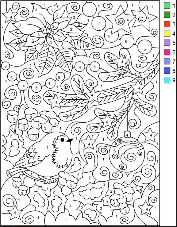 Varietats: Christmas Coloring Pages by Nicole's