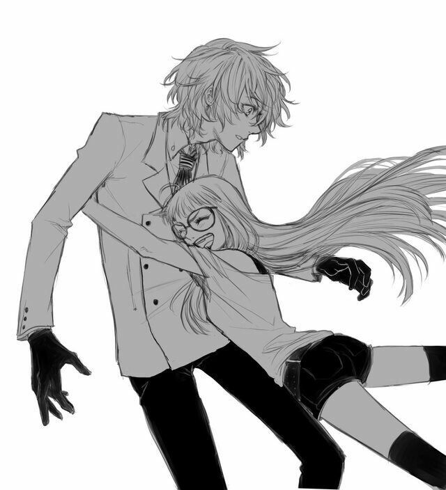 Persona 5 Wallpaper Morgana Cute Futago Siblings Goro And Futaba May Be Siblings Since