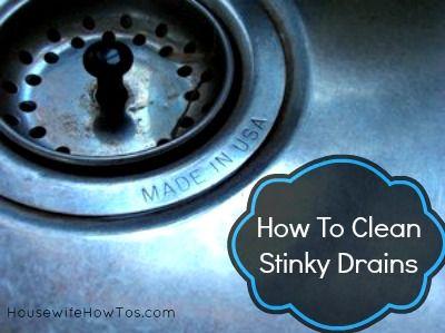 Best 25 Clean Sink Drains Ideas On Pinterest