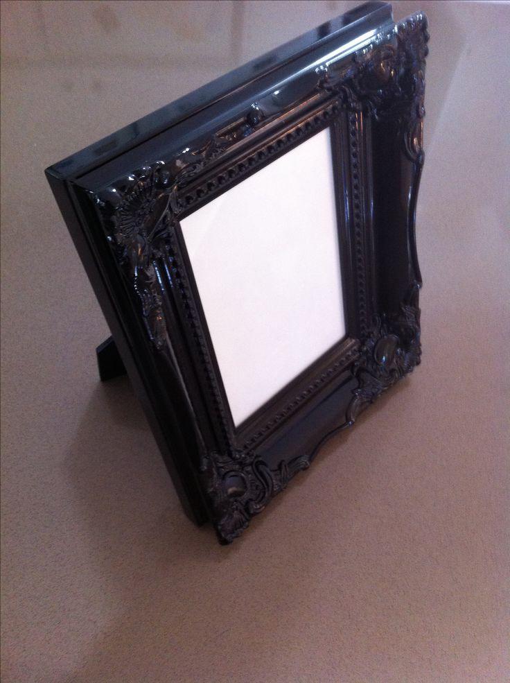 Gorgeous black frame