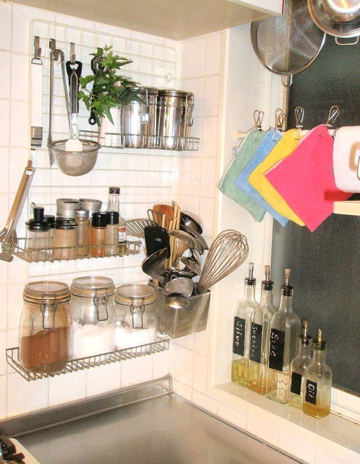 キッチンの収納不足を解消する!壁面収納アイディア|SUVACO(スバコ) ameblo.jp