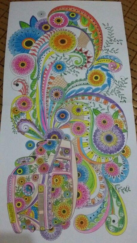 Park Young Mi Coloring Book