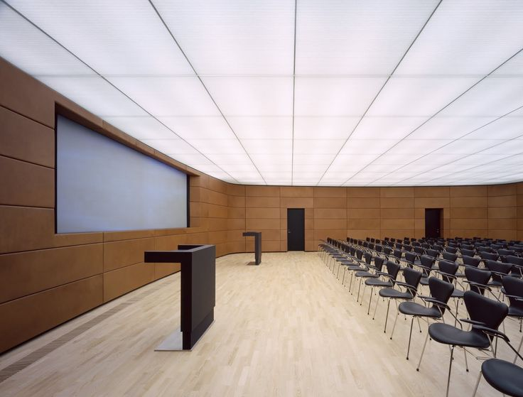 Acoustic Ceiling In Auditorium Sid Library Educational