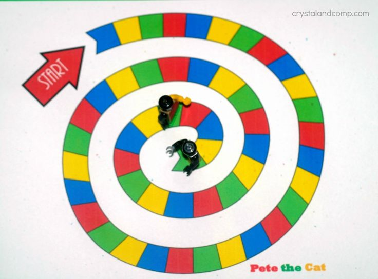 board game for pete the cat
