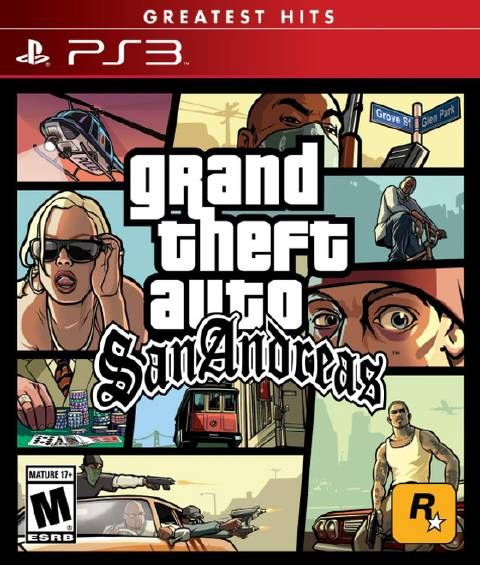 Grand Theft Auto San Andreas - Download game PS3 PS4 RPCS3