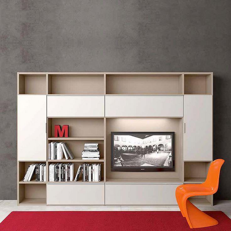 Free standing Tv media unit 'Minimalist 5' by Morassutti
