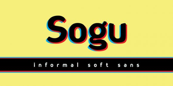 Sogu (80% discount, from 2,20€)   https://fontsdiscounts.com/sogu-80-discount