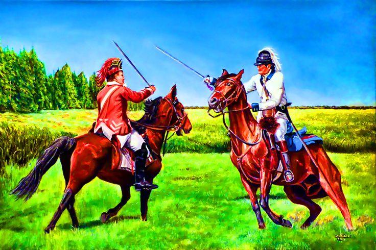 "1779-1781/"" Don Troiani Revolutionary War Print /""4th Continental Light Dragoon"