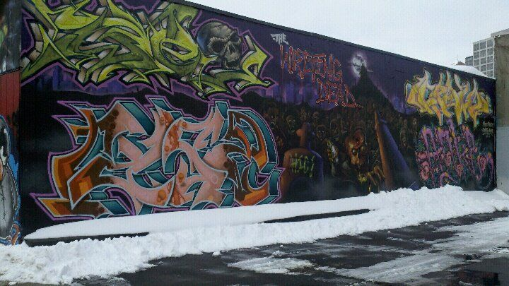 Michaels arts and crafts new haven ct for Arts and crafts mural