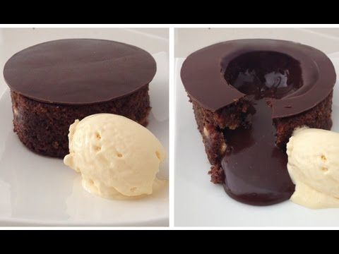 Magic Chocolate Lava Cake Dessert Recipe #chocolate cake #baking #dessert recipes #delicious http://www.adorabo.com/view/magic-chocolate-lava-cake-dessert-recipe