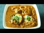 Spicy Boiled Egg Fry Recipe   How to make Egg Curry Side dish   Eggs Fry in Telugu By Hyderabadi