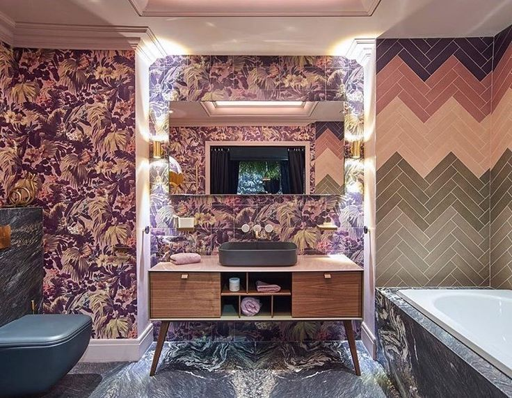 Hart And House Of Hackney Glam Pink Bathroom