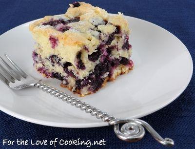 Father's Day Recipe Ideas: Buttermilk Blueberry Breakfast Cake