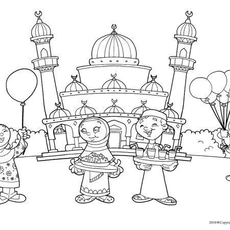 muslim_kids_coloring_pages