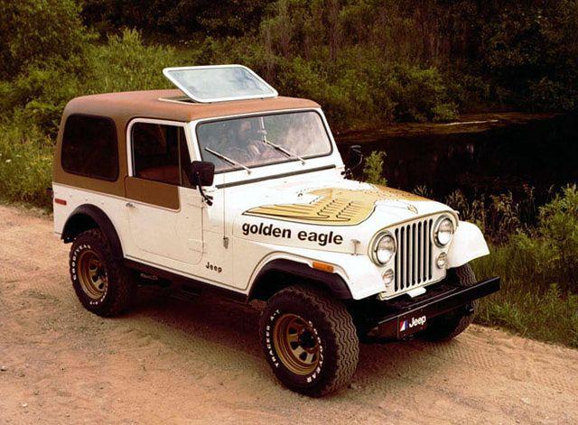 Jeep's CJ-7 had a 10-year run, from 1976 - 1986.