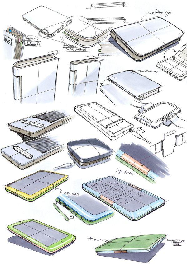 Sketches by Sang Hyun Jeong at Coroflot.com
